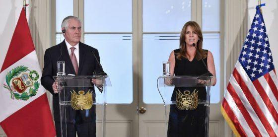 Canciller de Perú: la crisis en Venezuela no es un problema solo de los venezolanos
