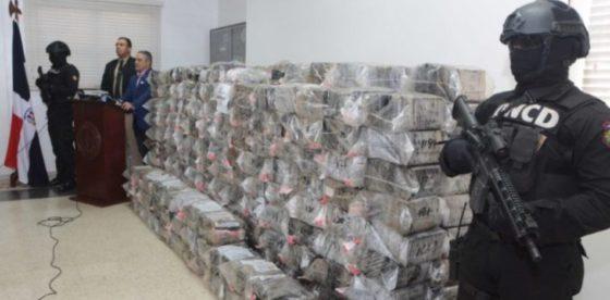 Venezolanos, cubanos y centroamericanos caen con 1.500 kilos de cocaína en Dominicana