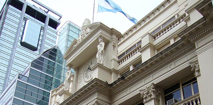 Edificio del Banco Central de la República Argentina. Fuente: Wikipedia.