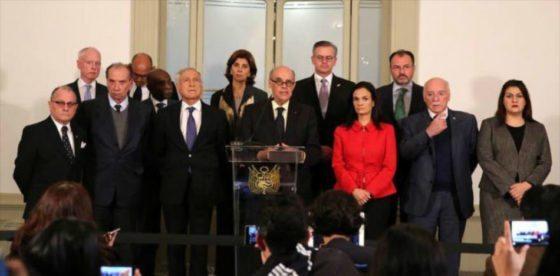 Grupo de Lima rechaza adelanto de elecciones en Venezuela y canciller mexicano abandona diálogo