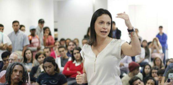 """María Corina Machado sobre presidenciales en Venezuela: """"La respuesta al narcofraude, es no"""""""