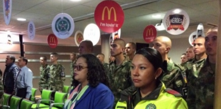 militares – McDonald's