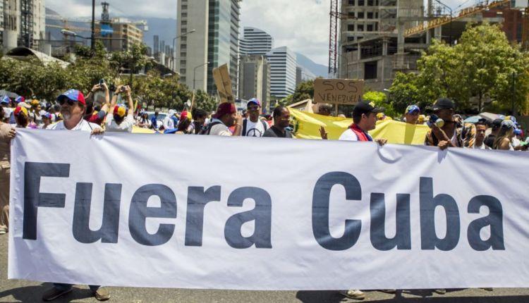protesta-cubanos-venezuela