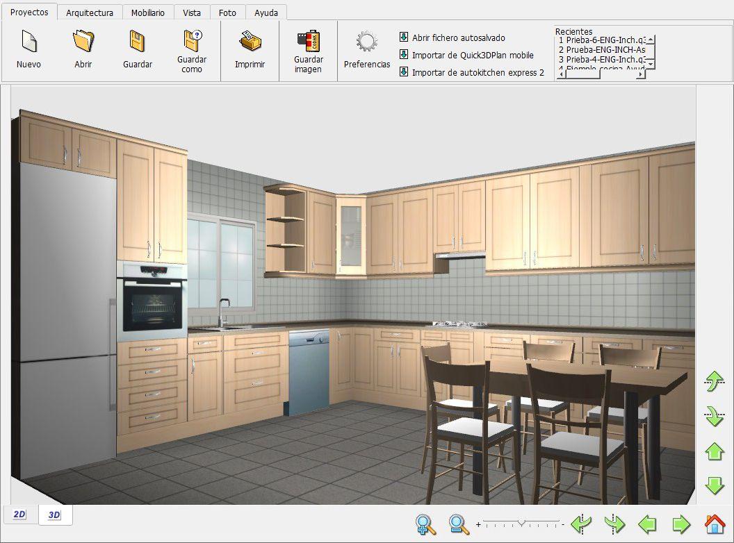 Beaufiful Programa Para Diseñar Cocinas En 3d Gratis Pictures ...