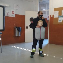 Los alumnos de 3º de ESO de la comarca reciben formación en materia de seguridad y primeros auxilios