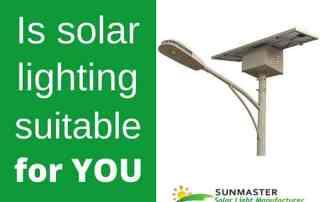 is solar lighting suitable for you - Blog Energía Solar