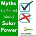 myth dispel1 - Mitos a Desvanecer sobre la Energía Solar