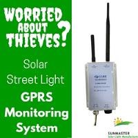 SunMaster gprs monitoring system - ¿Preocupado por los ladrones? Utilice el Sistema de Monitoreo GPRS para Sistemas de Iluminación Solar de SunMaster