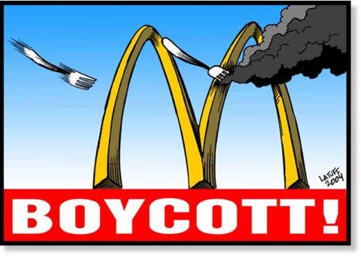 No Comer en McDonalds