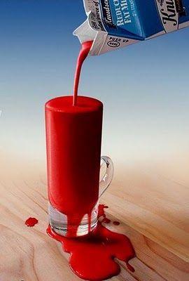 leche vaca veneno