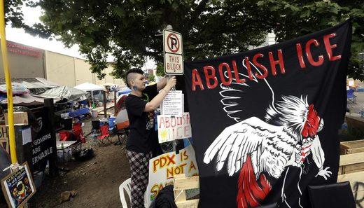 abolish ICE portland