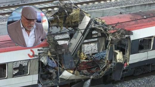 José Manuel Villarejo e imagen de archivo del atentado del 11 de marzo de 2004.