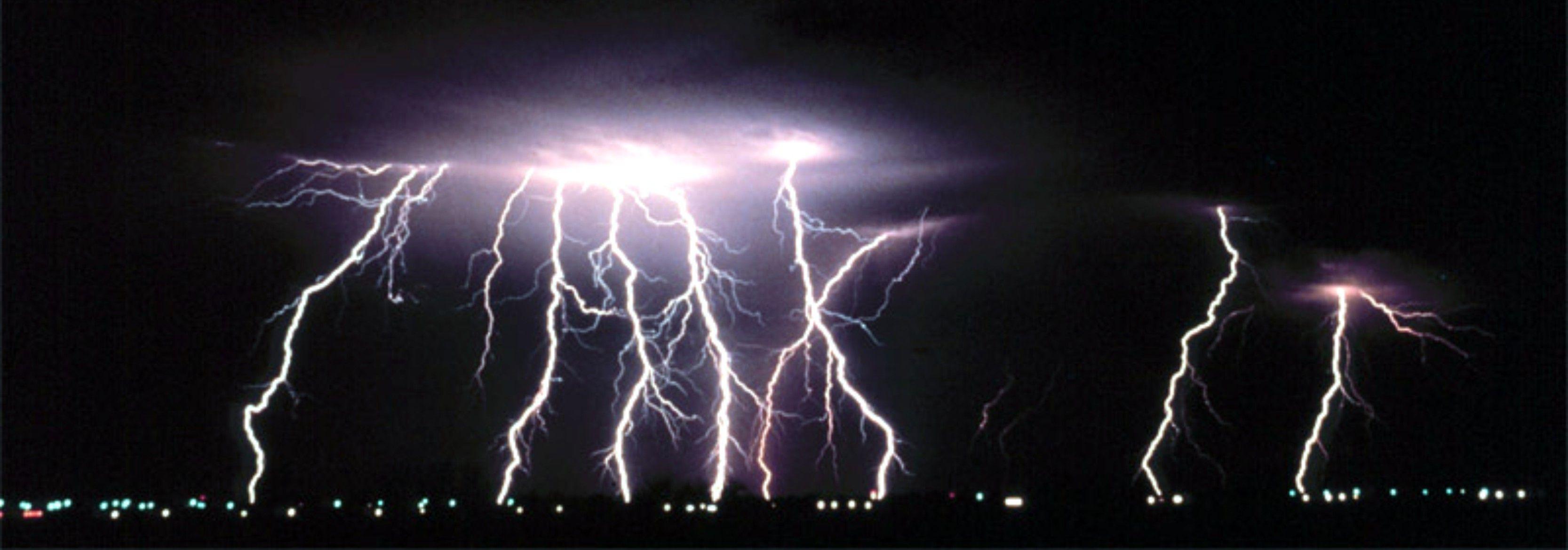La noche de los 17000 rayos en Gran Bretaa la mayor