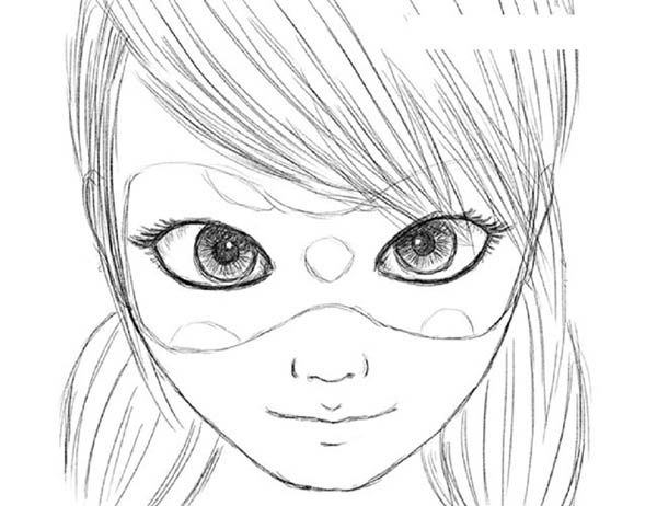 Cómo dibujar Lady Bug y Super Cat: paso a paso para