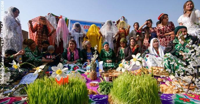 Norouz, las semillas del Año Nuevo