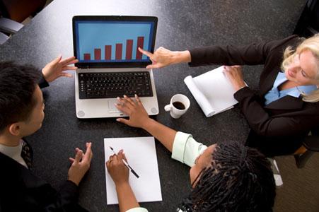 negocios, acuerdos, anunciantes, empresarios