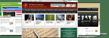 Portafolio blogs, creacion blogs, diseño web, sitios web dinamicos, profesionales