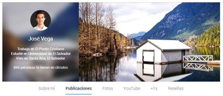 perfil google plus