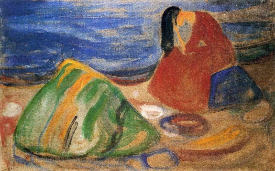 Resultado de imagen para melancolia pintura