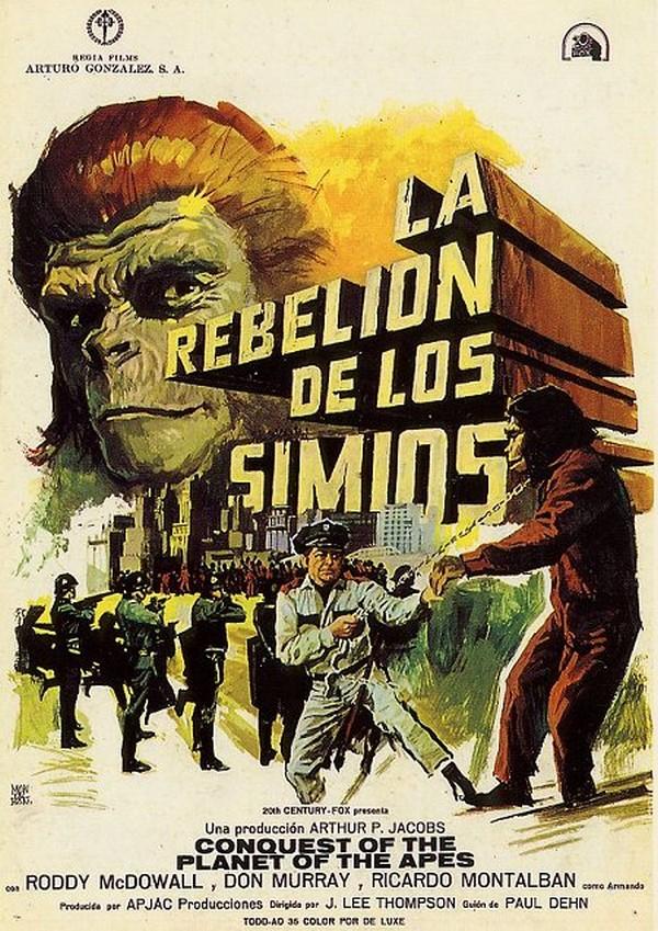 Resultado de imagen para La Conquista Del Planeta De Los Simios (1972) captura