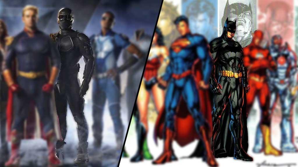 'The Boys': los superhéroes de La Liga de la Justicia VS su parodia en la serie de Amazon: Black Noir vs Batman - SensaCine.com