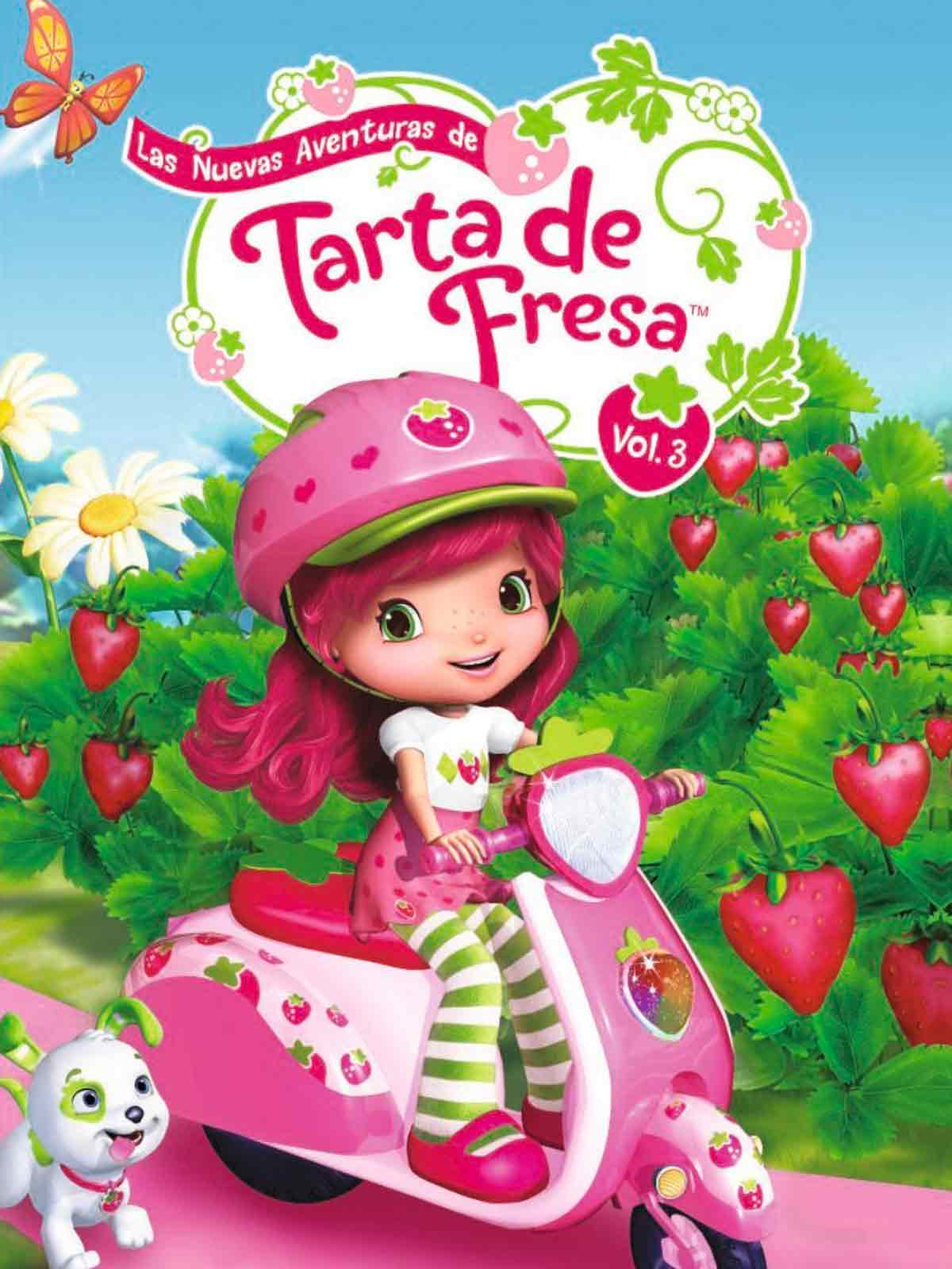 Strawberry Shortcake Girl Wallpaper Las Nuevas Aventuras De Tarta De Fresa Serie 2010