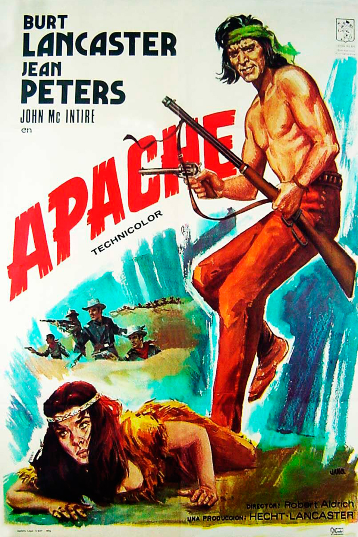 Resultado de imagen de apache pelicula
