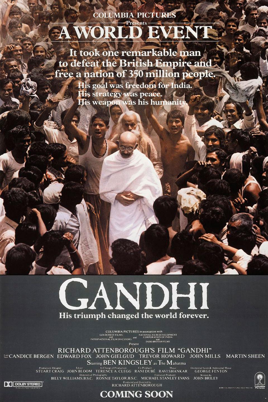 Resultado de imagen para gandhi pelicula
