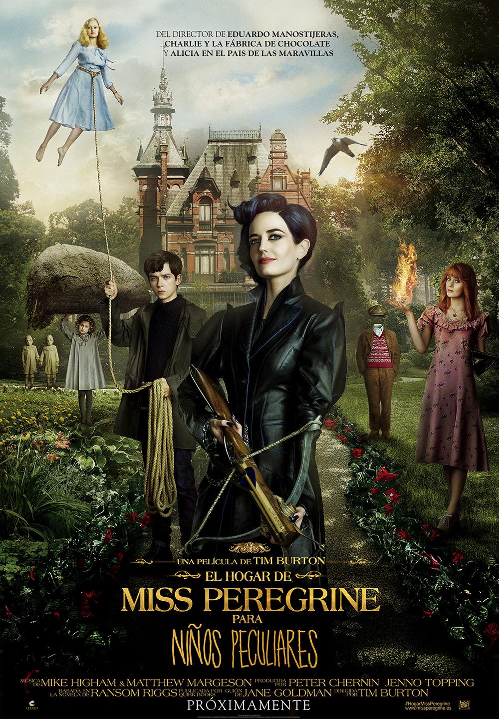 Resultado de imagen para Miss Peregrine Y Los Niños Peculiares