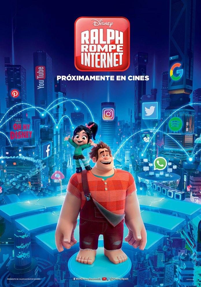 Rompe Ralph 2: Ralph rompe internet