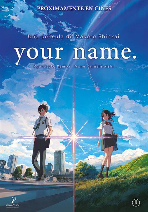 Resultado de imagen de your name poster