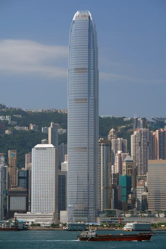 Two International Finance Centre Hong Kong  Ficha Fotos