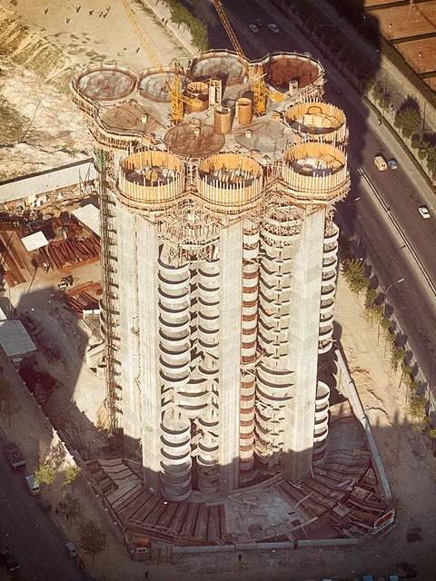 Torres blancas  Ficha Fotos y Planos  WikiArquitectura