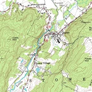 Ejemplo de mapa topográfico
