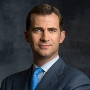 his majesty Felipe VI