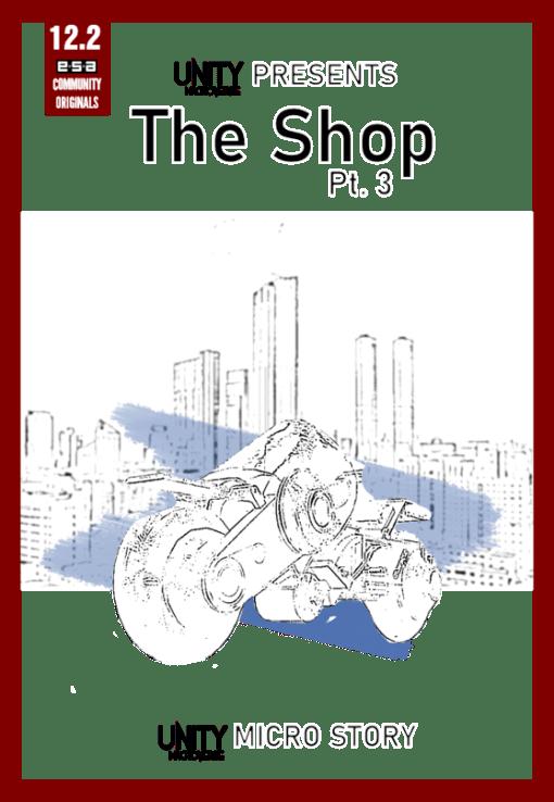 Shop 3 Malaysian Sci-Fi Story