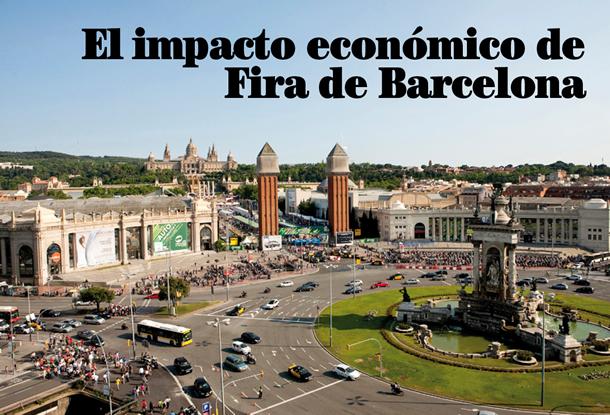 El impacto económico de Fira de Barcelona