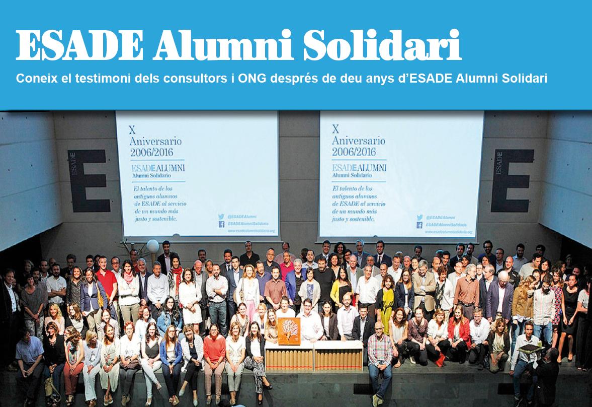 Coneix l'experiència ESADE Alumni Solidari