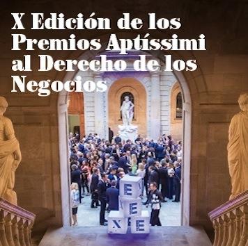 X Edición de los Premios Aptíssimi al Derecho de los Negocios
