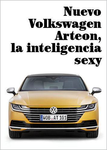 Nuevo Volkswagen Arteon, la inteligencia nunca había sido tan sexy