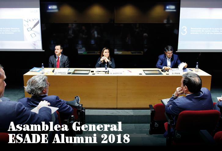 Asamblea General Ordinaria y Extraordinaria ESADE Alumni
