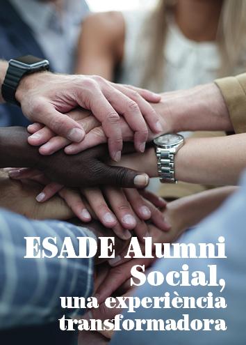 ESADE Alumni Social, una experiència transformadora