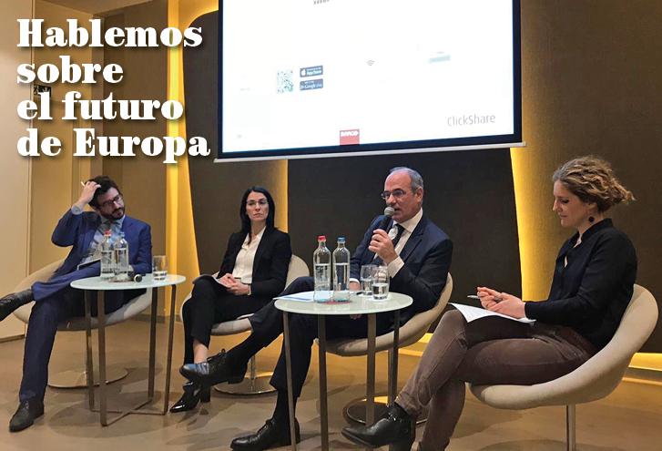 Hablemos sobre el futuro de Europa