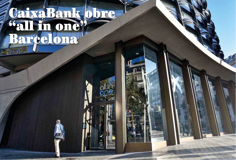 """CaixaBank obre """"all in one"""" Barcelona"""