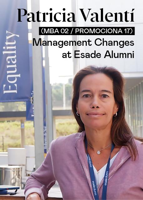 Management Changes at Esade Alumni