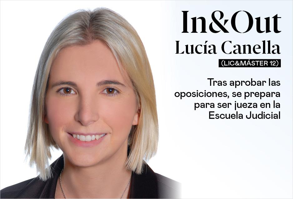 Lucía Canella (Lic&Máster 12) se prepara para ser jueza en la Escuela Judicial