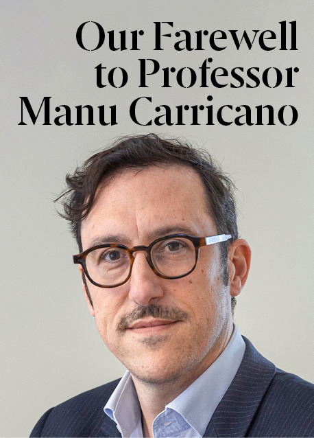 Our Farewell to Manu Carricano, Professor of the Department of Operations, Innovation and Data Science