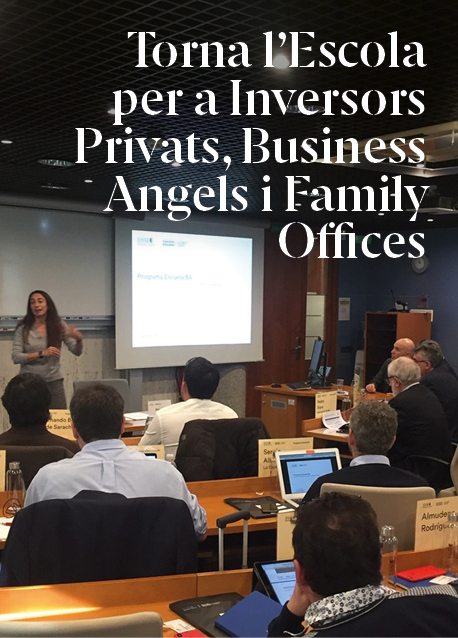 Torna l'Escola per a Inversors Privats, Business Angels i Family Offices