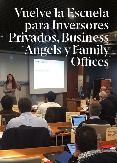 Vuelve la Escuela para Inversores Privados, Business Angels y Family Offices