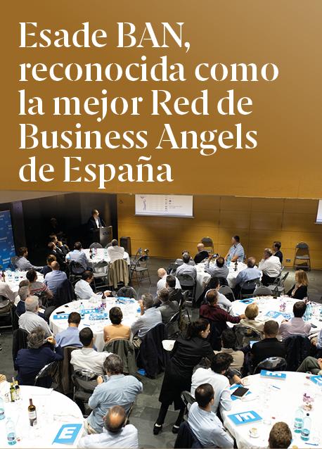 Esade BAN, reconocida como la mejor Red de Business Angels de España